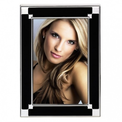 Arizona Portrait Frame, black, 10x15 cm